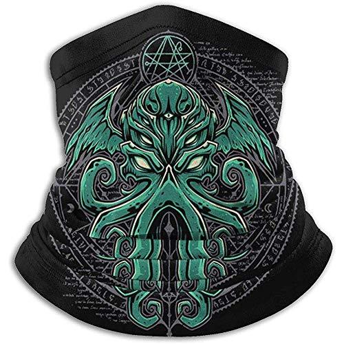 YTGHF Schal Neck Warmer Gaiter Cthulhu Soft Microfiber Headwear Face Scarf Mask