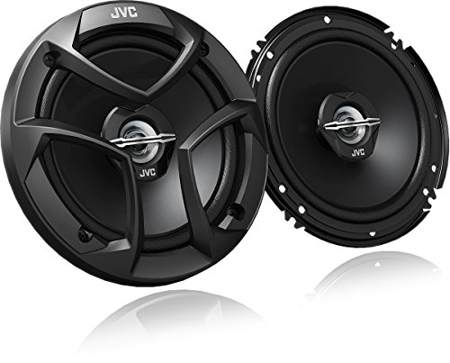 JVC CS-J620 300W 6.5' CS Series 2-Way Coaxial Car Speakers, Set of 2