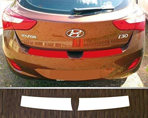 is-tuning passgenau für Hyundai i30, ab 2011; Lackschutzfolie Ladekantenschutz transparent