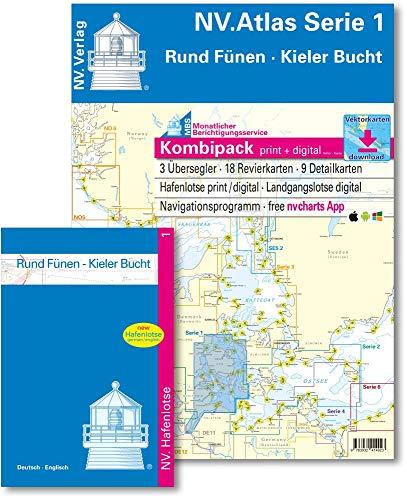 NV. Atlas Serie 1: Rund Fünen und Kieler Bucht (inkl. CD-ROM & App)