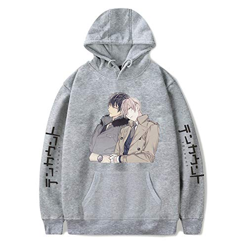 Ten Count Sudadera con capucha para las Mujeres de los Hombres Chándal Harajuku Streetwear 2021 Japón Anime Comic Ropa Más Tamaño
