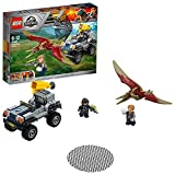 LEGO Jurassic World - Caza del Pteranodon, Juego de Construcción de Aventuras con Dinosaurio de Juguete (75956)