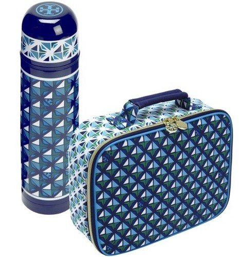 Target   Neiman Marcus Tory Burch Printed Lunch Box and Beverage Container