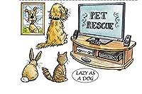 うさぎ猫犬透明クリアシリコンスタンプ/DIYスクラップブッキング用シール/フォトアルバム装飾クリアスタンプシートB073