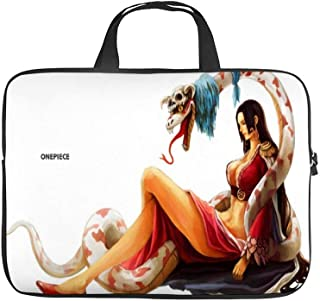 One Piece Shichibukai Boa Hancock Snake Anime Girls,Universal Laptop Computer Tablet,Pouch,Cover for,Apple/MacBook/HP/Acer/Asus/Dell/Lenovo/Samsung,Laptop Sleeve 12.6X9.4 inch