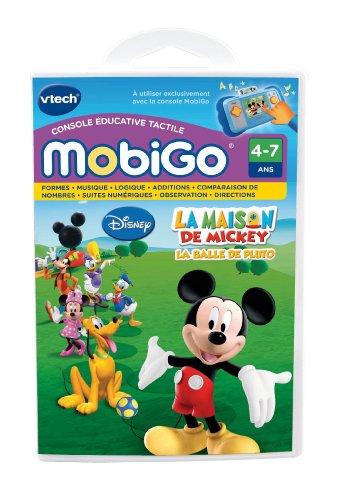 VTech 250505 Mobigo Disney - Juego electrónico para Consola educativa táctil (Contenido...