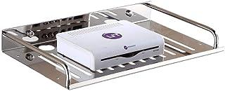 LULUDP Scatola di archiviazione Wireless Cavo di Ricarica Rack Mount Organizzatore WiFi Mobile TV Set-Top Box in Acciaio I...