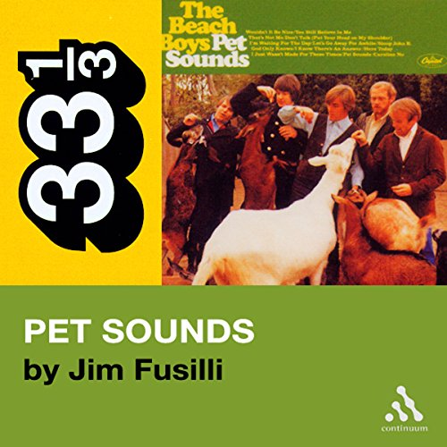 Beach Boys' Pet Sounds (33 1/3 Series) cover art