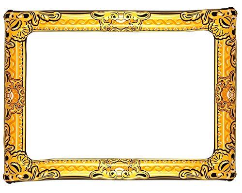 Henbrandt (3-delige verpakking) opblaasbaar 60 cm x 80 cm slefie fotolijst fotocabine party rekwisieten