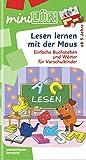 miniLÜK / Schuleingangsphase: miniLÜK: Lesen lernen mit der Maus: Einfache Buchstaben und Wörter für Vorschulkinder