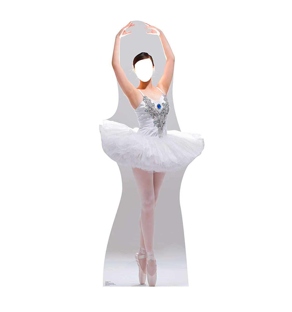 Advanced Graphics Ballerina Stand-in Life Size Cardboard Cutout Standup