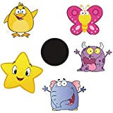Potty Training Color Changing Stickers, Baby Toilet Training Sticker, Toilet Targets Stickers, Stickers for Potty Training Use with or Without Potty Chart or Potty Watch (5PCS)