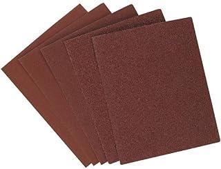 BLACK+DECKER Sandpaper Assortment, 1/4-Inch Sheet, 6-Pack (74-606)