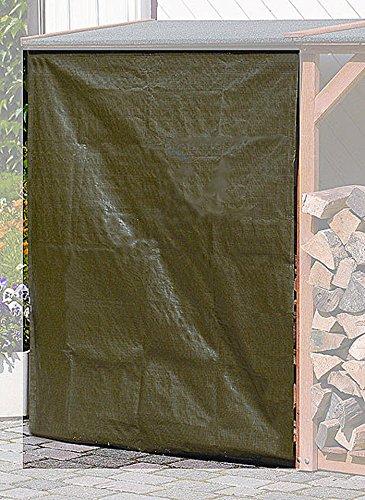PROMADINO Wetterschutz für Kaminholzregale SPEYER + ROMA 355/03