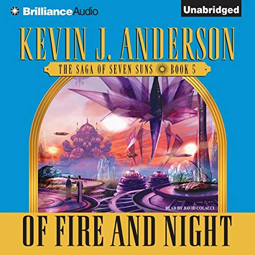 Of Fire and Night cover art