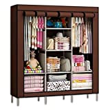 FAB Innovations Folding Non Wardrobe, Storage Rack Collapsible Clothes Fabric Cloth Storage Almirah