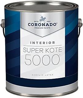 Super Kote 5000 Interior Acrylic SemiGloss Enamel by Benjamin Moore (Gallon, White)