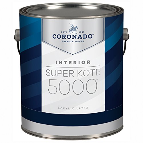 Super Kote 5000 Interior Acrylic SemiGloss Enamel by Benjamin Moore (5 Gallon, Custom Color)
