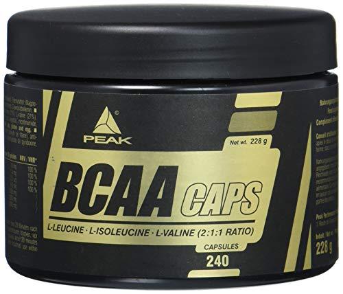 PEAK BCAA Caps - 240 Kapseln à 950mg
