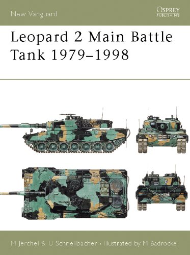 Leopard 2 Main Battle Tank 1979–98 (New Vanguard Book 24) (English Edition)