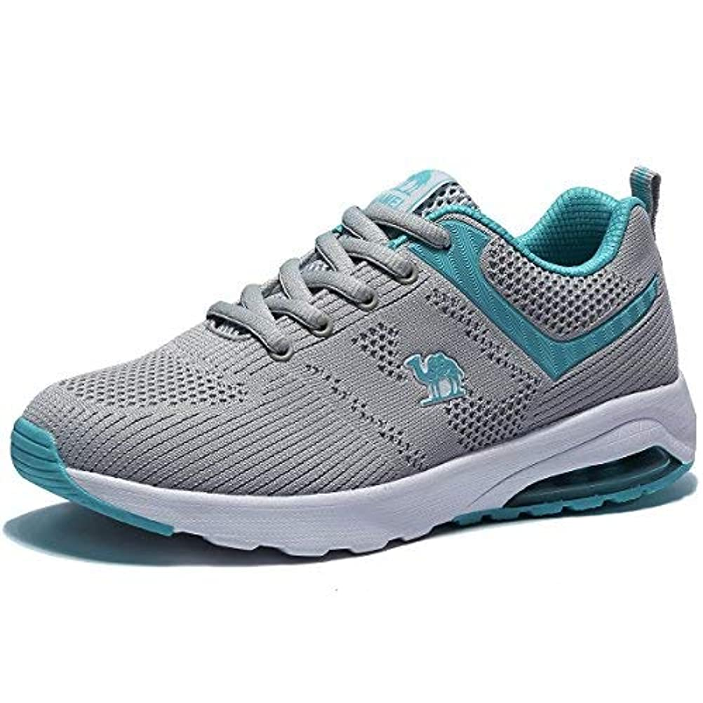 スペイン語原始的なラップCamel Athletic Shoes for Women Trail Running Breathable Lightweight Sports Shoes for Walking Gym Training [並行輸入品]