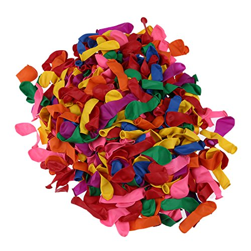 TOOGOO 500 Stueck Wasserbomben Ballons Outdoor Party Garten Strand Spass Spielzeug