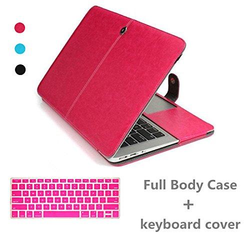 Tiankaid estuche de cuero MacBook Pro