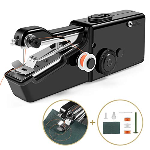 Handheld Sewing Machine, Cordless Handheld Electric Sewing Machine...