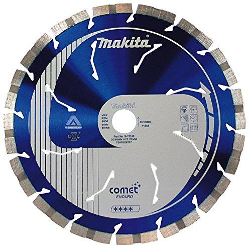 Makita B-12784 - Disco de diamante comet 230x22,23 segmento 10 mm 3ddg + rapide + abeRTuras refrigeración