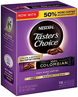 Nescafe Taster's Choice NA Instant from Nescafe Taster's Choice