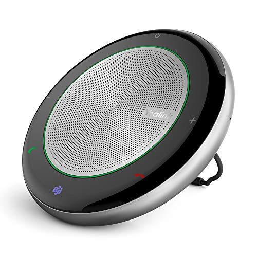 Teams-Certified-Wireless-Bluetooth-Speakerphone Yealink CP700 CP900 Speakers with Microphone Enhanced Noise Reduction Algorithm Home Office 360° Voice Pickup (Teams Optimized, CP700)