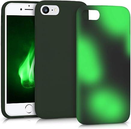 8428ee6350b kwmobile Funda compatible con Apple iPhone 7 / 8 - Carcasa con [cambio de  color