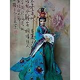 HEEGNPD 12' muñecas étnicas de la Vendimia Princesa China muñecas de la decoración del hogar Ornamento de los Artes de colección Antigua de Chicas Juguetes 32cm