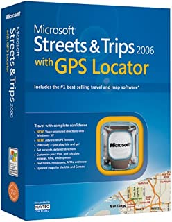 ms streets and trips with gps