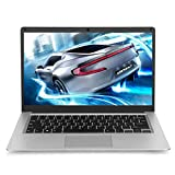 YELLYOUTH 14 inch Laptop with Windows 10, Thin and Light Notebook Intel N Series 6GB RAM 64GB EMMC with HDMI Bluetooth WiFi Silver