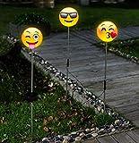 "Solar Stableuchte ""Happy Face"" 3er Set"