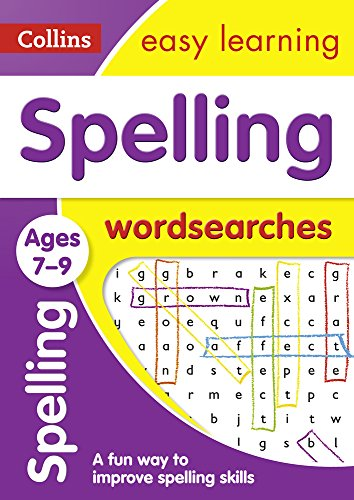 Spelling Word Searches Ages 7-9: Ideal for Home Learning (Collins Easy Learning KS2)