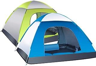 DorisAA camping tält enkel inställning 3-4 personer vattentät automatisk tält utomhus camping sovande tält 210D Oxfordtyg ...