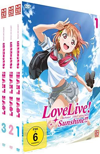 Love Live! Sunshine!! - Gesamtausgabe - Bundle - Vol.1-4 - [DVD]