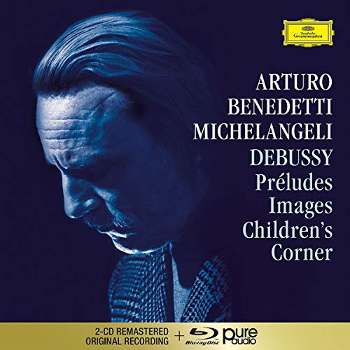 Debussy: Préludes, Images, Children's Corner (Blu-ray Audio)