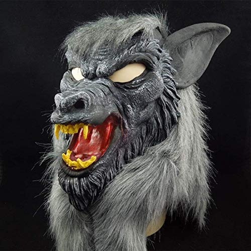 XDDXIAO Máscara Mascarada Máscara de Baile Máscara de Halloween Horror Diablo Maquillaje...