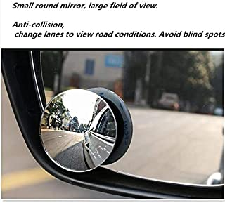 حامل أقراص ضرائب السيارات من سايز أوه - مرآة محدبة دائرية بزاوية واسعة 360 لتصميم السيارات لـ passat b7 auris reno megane ...