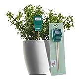 Gobetter Soil Moisture Meter, Plant Water Meter Indoor & Outdoor, Sensor Hygrometer Soil Tester for Potted Plants, Garden, Lawn, Farm (No Battery Needed)