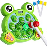 Yuham Toys & Games Gifts for 2 3 4 Year Old Boys, Toddler Toys Age 2-4, Frog Game 2-3 3-4 3-5 Years yr Olds Gift Girls Toy, 3 Hammers Included