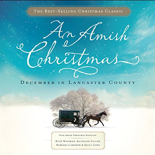 An Amish Christmas audiobook cover art