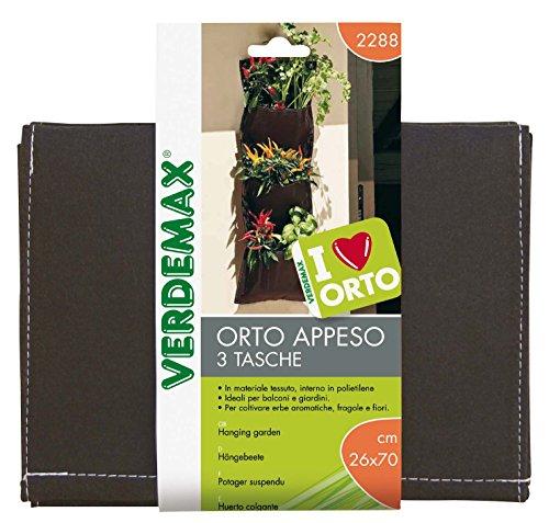 Betty Garden 8015358022880 VERDEMAX Orto Appeso 3 Tasche 26X70 Giardino Ed Esterni, Unica