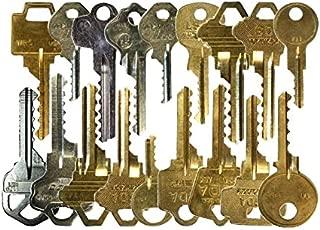 Kit de 24 llaves bumping Bump-Keys para cerraduras de