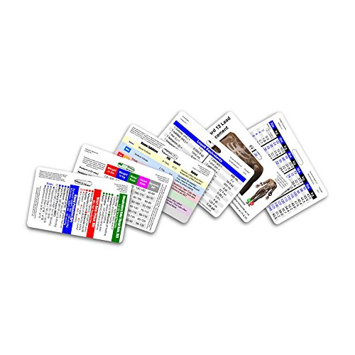 Mini CNA/MA/Tech Horizontal Badge Card Set - 6 Cards