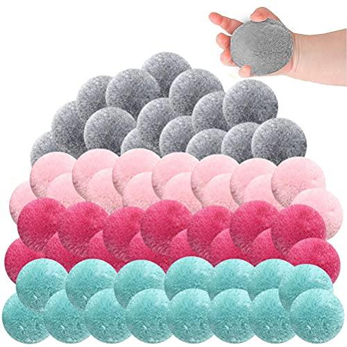 60 Piezas de Juguetes de Bolas de Agua de algodón Malabarismo con Bombas de Agua Splash Soaker Balls Juguetes de trampolín Pelotas de Juego Globos de Agua Juego de Fiesta en la Playa en la Piscina