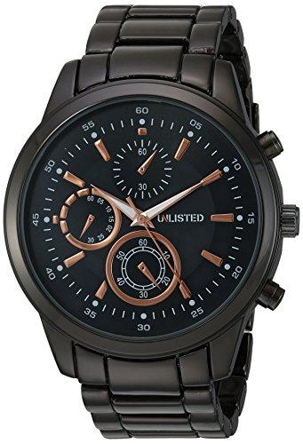 Unlisted Watches Herren Analog Japanischer Quarz Uhr mit Legierung Armband 10027761